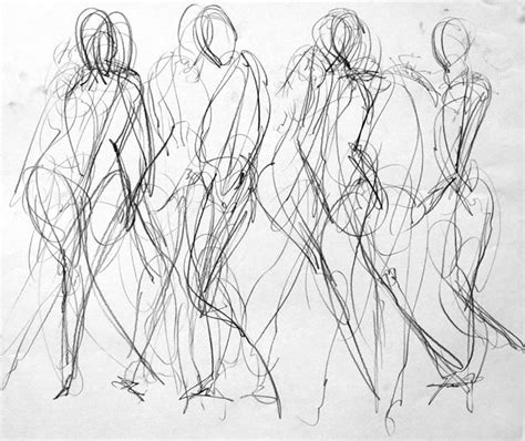 figure lines lesson gesture drawing precision