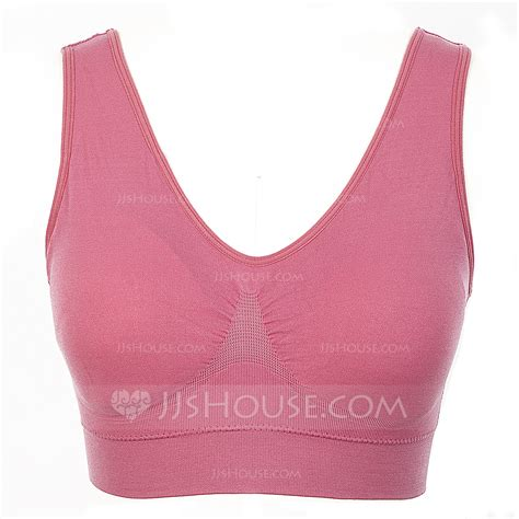 Plus Size Comfortable Polyester Bra 041055869 Jjshouse