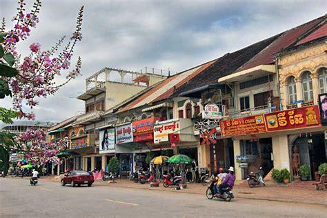PHOTO: French colonial buildings, Battambang, Cambodia