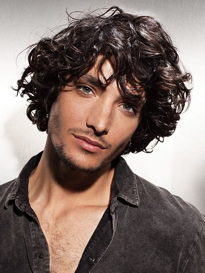 male hairstyles large gallery pictures shag hairstyles for men mens curly shag hairstyle