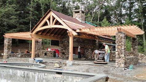 current projects maine barn company backyard pavilion