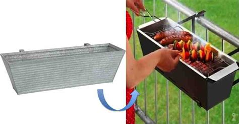 Home Decor Germany by Diy Handrail Barbecue For Tiny Patios Do It Yourself Fun