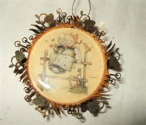 vintage hummel christmas ornament coquettes by