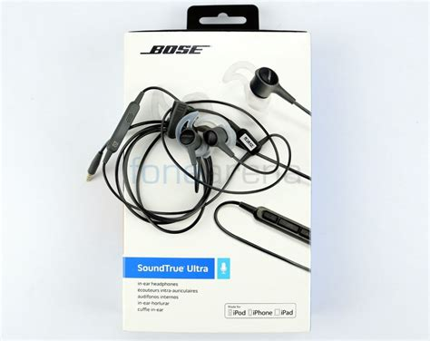 Bose Soundtrue Ultra Wired In Ear Android Headphones Graphite bose soundtrue ultra in ear headphones review