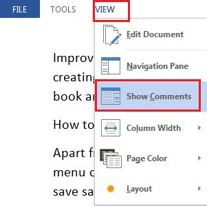 word reading layout turn off turn off turn on read mode in word 2013