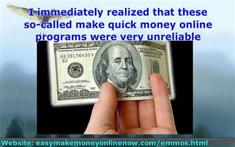 Making Quick Money Online - make quick money online scams exposed popscreen