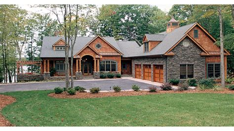 One Story Lake House Plans craftsman one story house plans craftsman house plans lake