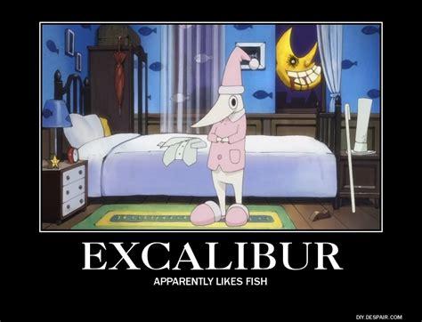 Excalibur Meme - like a boss soul eater excalibur meme memeaddicts
