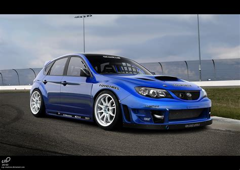 subaru wrx hatchback modified subaru impreza hatchback wallpaper image 166