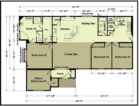 ranch floor plans baby nursery open concept ranch floor plans house plans
