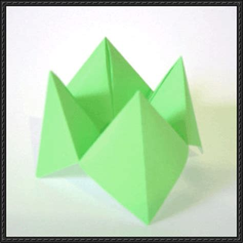 Make Fortune Teller Origami - how to make a fortune teller origami