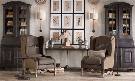 restoration hardware living room house ideas pinterest light walls and dark curtains like book cases rooms
