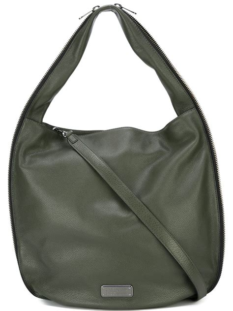 Marc By Marc Miss Marc Hobo by Lyst Marc By Marc New Q Zippers Hillier Hobo Tote