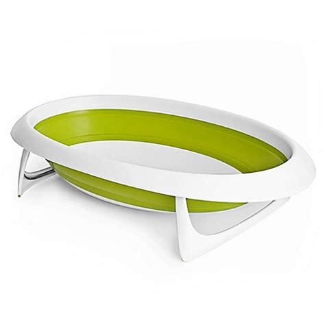 naked collapsible baby bathtub buy boon naked 2 position collapsible baby bath tub from bed bath beyond