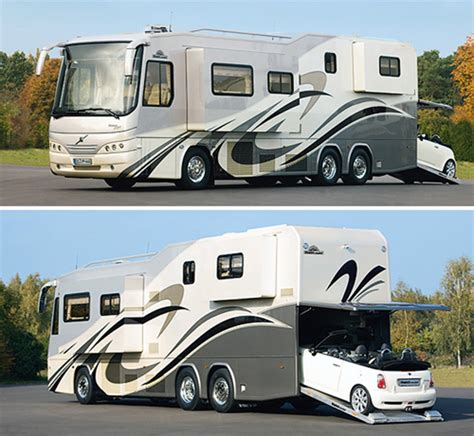 motorhome with garage variomobil perfect 1200 platinum motorhome gadgetking com