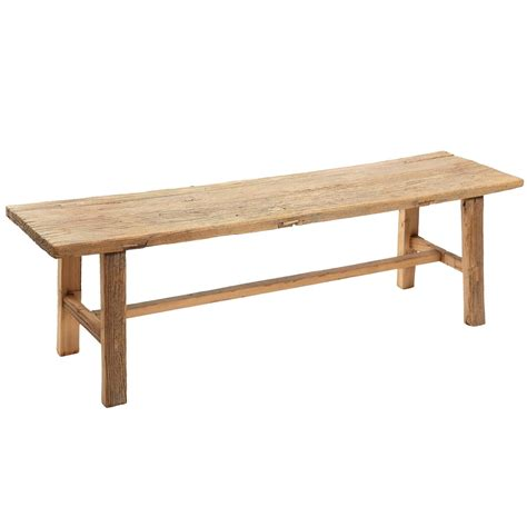 rustic wooden benches for sale rustic elm wood bench four available for sale at 1stdibs