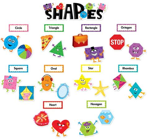printable shapes for bulletin boards 4 best images of free printable shapes for preschool