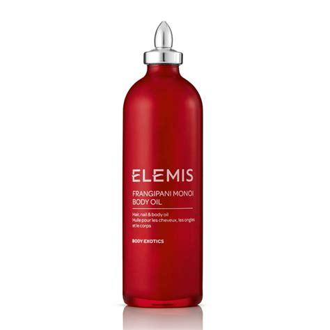 best elemis products elemis sp home frangipani monoi 100ml feelunique