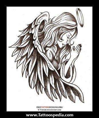 simple angel tattoo design simple guardian angel drawing guardian angel tattoo art