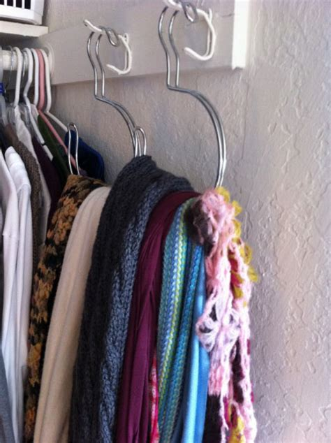 How To Organize Scarves In Closet by All Squared Away Scarf Organizer
