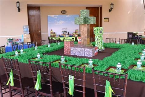 party themes minecraft kara s party ideas minecraft party planning ideas supplies