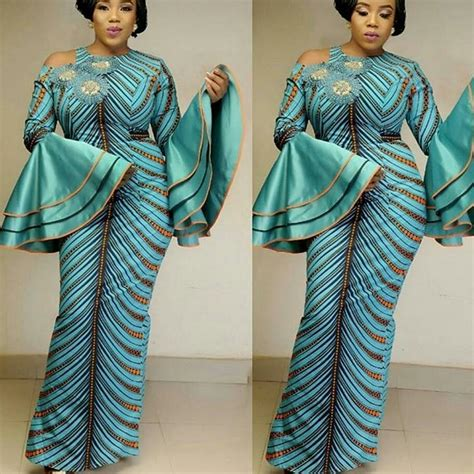 Fr019 New Pattern 2018 Fashion Wedding Lovely Green breath taking ankara styles 2018 we are crushing on this