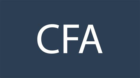 Cfa Track Mba Programs by Cfa Meets Mba The Amalgam