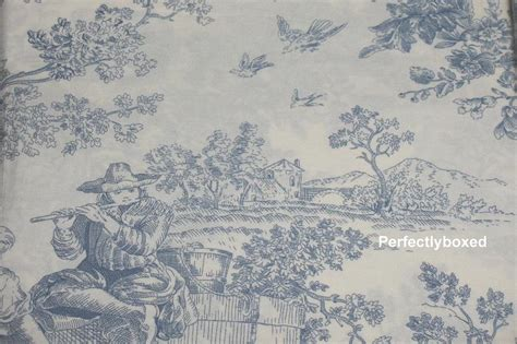 toile de jouy curtains blue toile de jouy blue king duvets www perfectlyboxed com