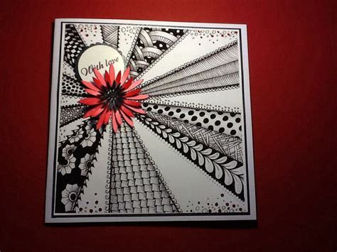 zentangle pattern cards 104 best images about zentangle cards on pinterest