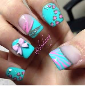 colorful acrylic nails 30 best images about colored acrylic nails on
