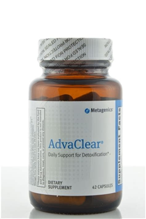 Detox Metagenics Get On Track Healthy Year by Advaclear Detox 42 Capsules Metagenics