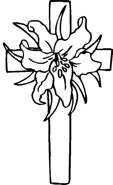 free coloring pages of crosses