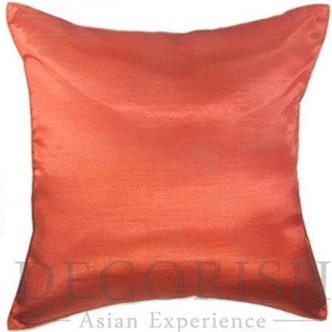 1x silk large decorative throw pillow cover for sofa