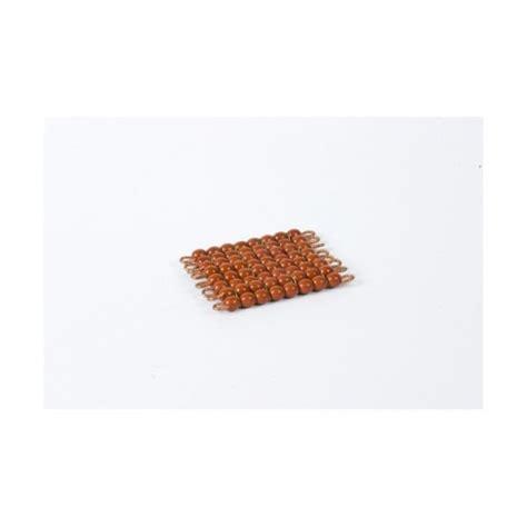 carr 233 de 8 en de verre individuelles marron