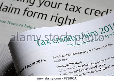 Tax Credit Form Tc600 tax credit credits payment hmrc change claim claiming