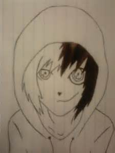 Jeff The Killer Drawing Outline by Jeff The Killer By Blackshot96xd On Deviantart