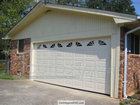 Enclosed Garage Ideas by Enclosing A Garage Door Images
