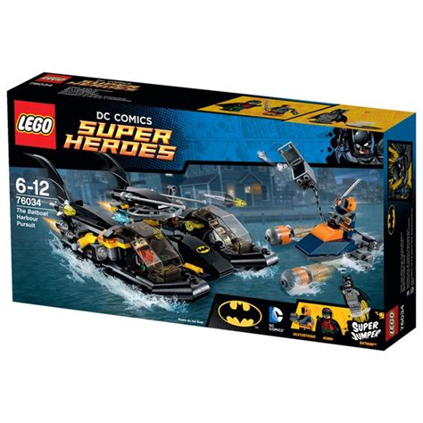 Lego 76034 Batboat Harbor lego heroes the batboat harbor pursuit 76034 iwoot