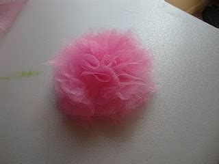 organza bow tutorial tulle puff bow crafty kids pinterest flower tulle