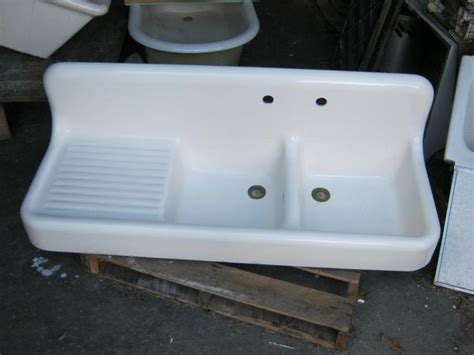 high back sink high back kitchen sink consigned 36 quot wide high back