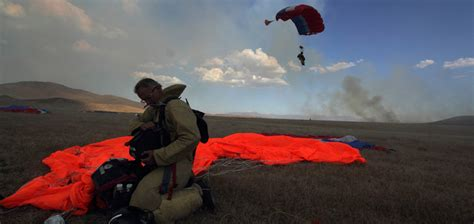 what are smokejumpers adapt this wildland firefighting hotshots