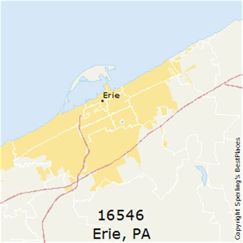 best places to live in erie zip 16546 pennsylvania