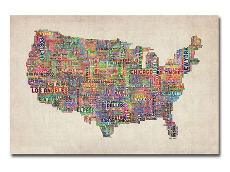 us cities text map tompsett us cities text map vi