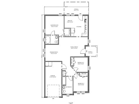 2 bedroom tiny house plans small house floor plan small two bedroom house plans