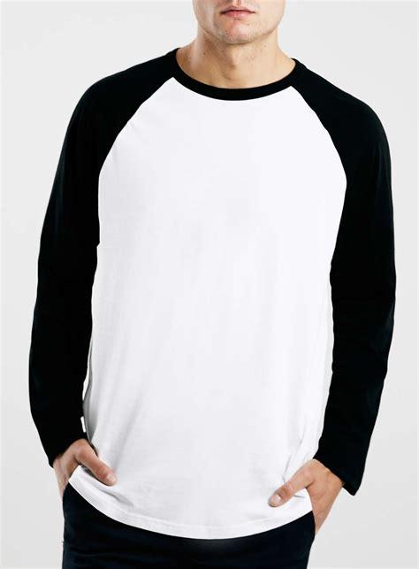 Tshirt Raglan Black white black contrast raglan sleeve t shirt blingby