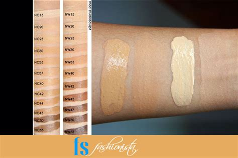 mac foundation colors mac foundation colors complete guide to mac foundations