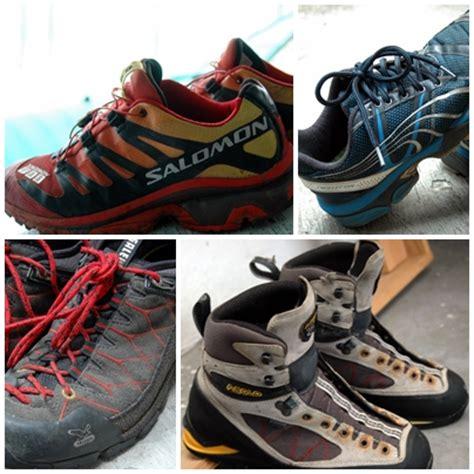 Sepatu Salomon Abu List Orange a pair of shoes is like a friend gapai tinggi
