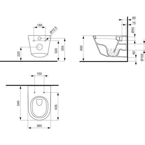 vasi sospesi ideal standard dettagli prodotto k3108 vaso sospeso ideal standard
