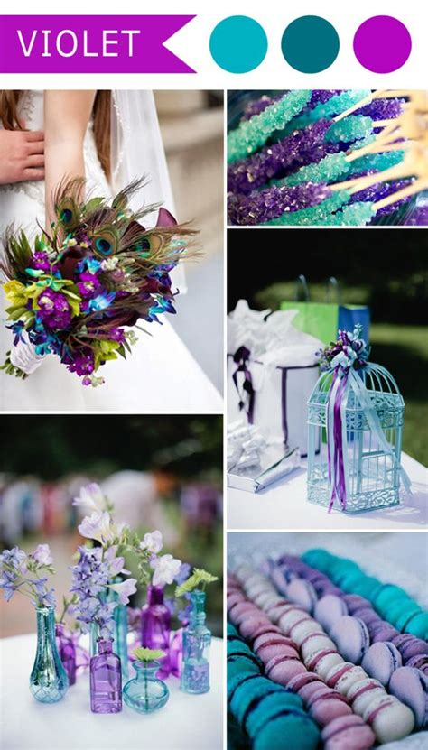 color purple book themes peacock themed wedding wedding colors and teal blue on