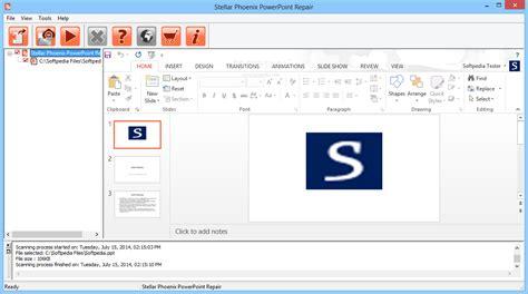 reset tool on powerpoint stellar phoenix powerpoint repair download